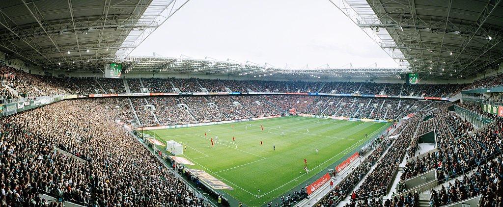 Stadion im Borussia-Park, Mönchengladbach