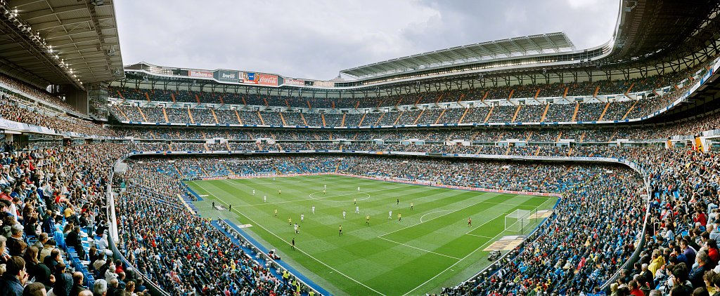 Estadio Santiago Bernabeu, Madrid